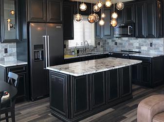 Custom project by Oasis Floors & Design Center in Lake Havasu City, Arizona
