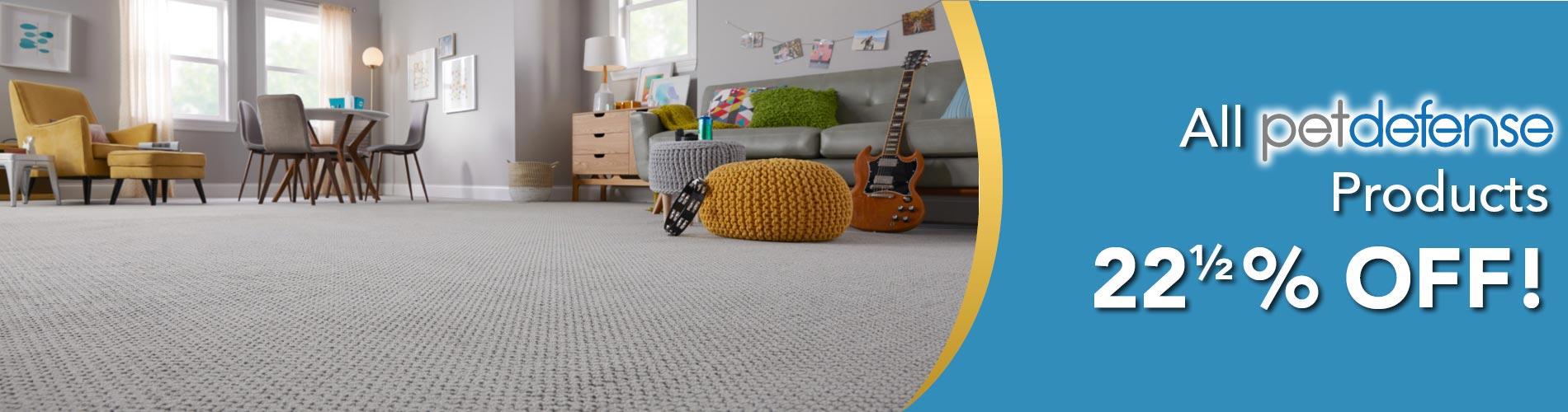 Pet-friendly carpet on sale at Oasis Floor & Design Center in Lake Havasu City
